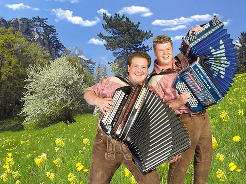 Das Duo Alpen Sterne